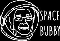 space bubbly logo
